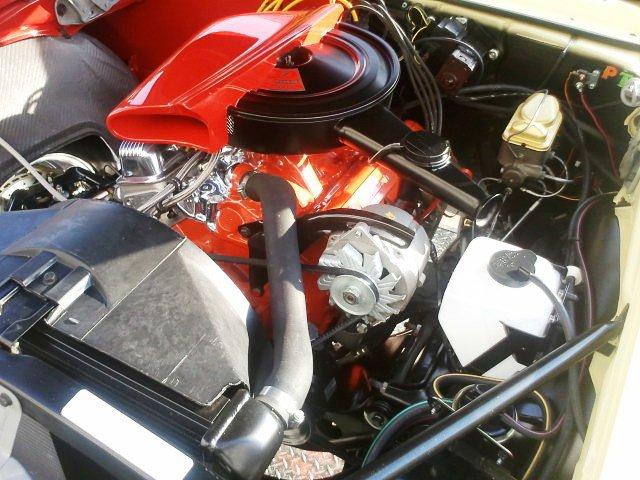 68 SF Camaro Engine
